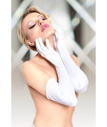 Перчатки длинные Soft Line Collection белые