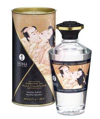 Съедобное массажное масло Shunga Ванильное блаженство 100мл
