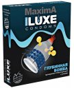 Презерватив Luxe maxima Глубинная бомба с усиками и шариками 1шт