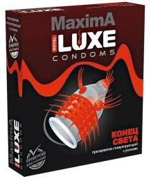 Презерватив Luxe maxima Конец света с усиками 1 шт