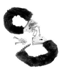 Наручники с мехом Pipedream Beginners Cuffs чёрные