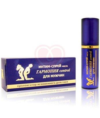 Спрей-пролонгатор с маслом мяты Bioritm Гармония Control для мужчин 9мл