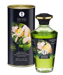 Съедобное органическое массажное масло Shunga Organica Зеленый чай 100мл