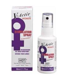 Спрей Hot V-activ со стимулирующим эффектом для женщин 50мл