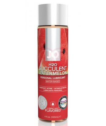 Съедобный лубрикант System JO H2O Flavored Watermelon с ароматом Арбуз 120мл