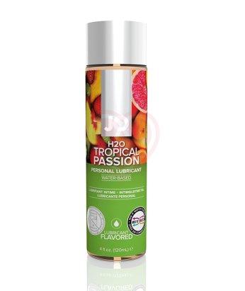 Съедобный лубрикант System JO H2O Flavored Tropical Passion с ароматом Тропические фрукты 120мл