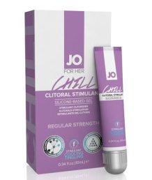Стимулирующий гель для клитора JO Clitoral Stimulation Gel Chill среднего действия 10мл
