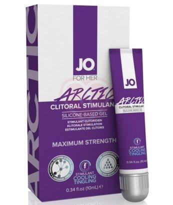 Стимулирующий гель для клитора JO Clitoral Stimulation Gel Arctic сильного действия 10мл