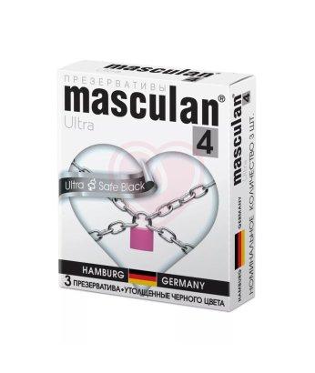 Ультра прочные презервативы Masculan Ultra strong с обильной смазкой 3шт