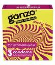 Презервативы для продления полового акта Ganzo Long Love 3шт