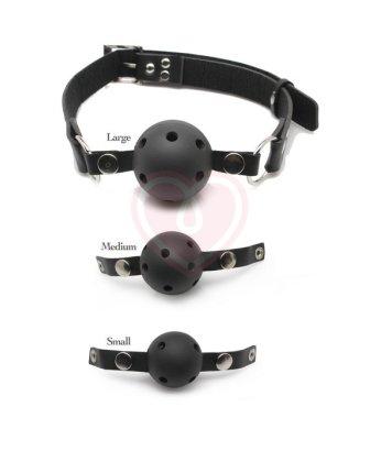 Набор из 3 кляпов разного размера Ball Gag Training System