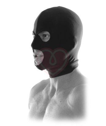 Шлем-маска на голову с прорезями для глаз и рта Pipedream Spandex Hood
