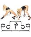 Набор для бондажа с распорками для рук и ног Pipedream Spread 'em Bar and Cuff Set