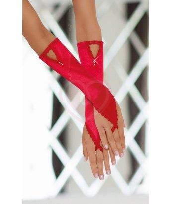 Перчатки Soft Line Collection красные