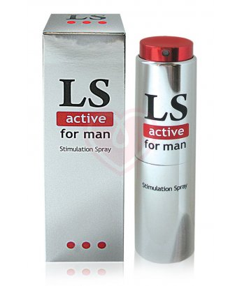 Стимулирующий спрей для мужчин LoveSpray Active 18 г