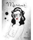 Кружевная маска ToyFa Marcus серебряная