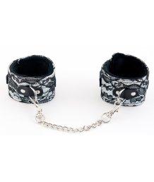 Кружевные поножи ToyFa Marcus серебряные