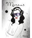 Кружевная маска ToyFa Marcus фиолетовая