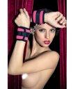 Мягкие наручники ToyFa Theatre розовые