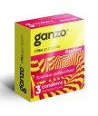 Презервативы Ganzo Extase с точечной и ребристой поверхностью 3шт