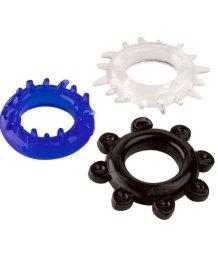 Набор разноцветных стимулирующих колец ToyFa A-Toys
