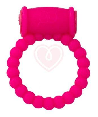 Стимулирующее виброкольцо ToyFa A-Toys розовое