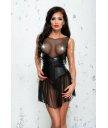Платье и стринги Me Seduce Bond Me Xymena черное