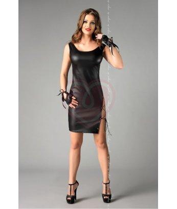 Платье с перчатками Me Seduce Abigel черное
