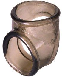 Кольцо для пениса ToyFa Xlover черное
