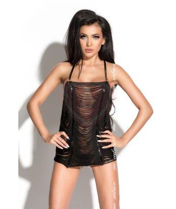 Платье и стринги Me Seduce Queen of Hearts Samantha черные