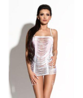 Платье и стринги Me Seduce Queen of Hearts Samantha белые