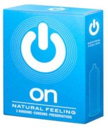 Классические презервативы On Natural Feeling 3 шт
