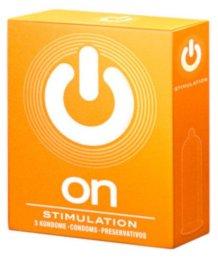 Презервативы с пупырышками On Stimulation 3 шт