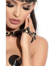 Манжеты Me Seduce Queen of Hearts Arabesque черные