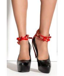 Украшение на щиколотки Me Seduce Queen of Hearts Bonita красное