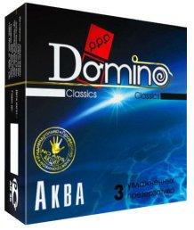 Классические презервативы Domino Classics Аква 3 шт