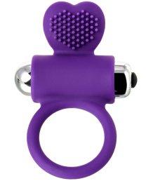 Кольцо с ресничками Jos Pery фиолетовое