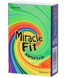 Анатомические презервативы Sagami Miracle Fit 5 шт