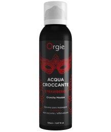Шипучая пена для чувственного массажа Orgie Acqua Croccante клубника 150 мл