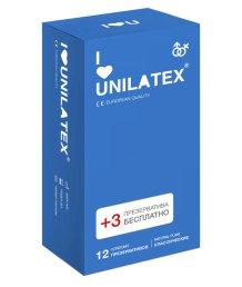 Презервативы Unilatex Natural Plain классические 12шт