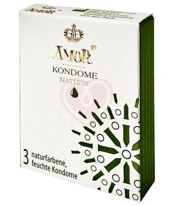 Классические презервативы Amor Nature 3 шт