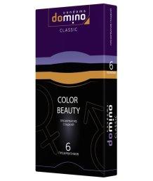 Цветные презервативы Luxe Domino Classic Colour Beauty 6 шт