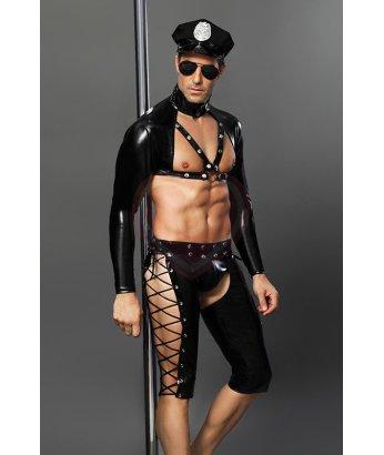 Облегающий костюм полицейского Candy Boy Josh