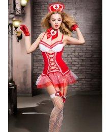 Костюм медсестры с пышной юбочкой Candy Girl Gesabelle