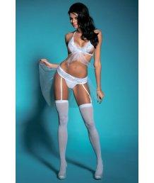 Комплект белья с юбочкой из сетки Candy Girl Gabriela