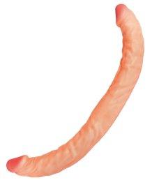 Реалистичный двойной фаллоимитатор RealStick Nude 34 см
