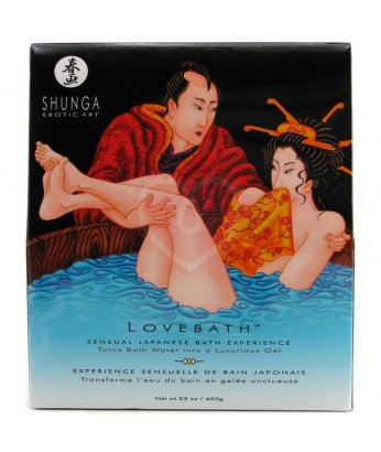 Гель для необычного принятия ванны Shunga LoveBath Океанское искушение 650гр