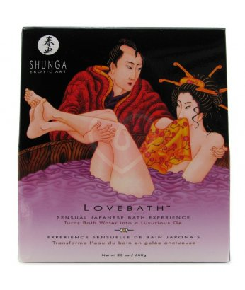 Гель для необычного принятия ванны Shunga LoveBath Чувственный лотос 650гр