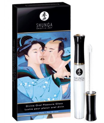 Блеск для губ для орального секса Shunga Кокос 10мл