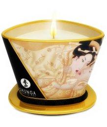 Массажное аромамасло в виде свечи Shunga Vanilla Fetish Ванильный Фетиш 170мл